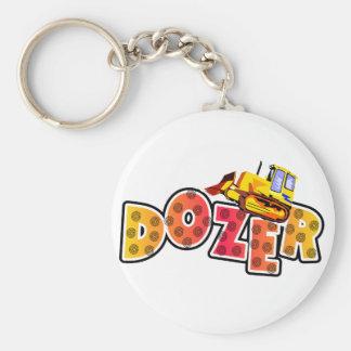 Bulldozer Tshirts and Gifts Keychain