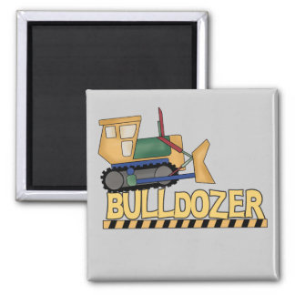 Bulldozer Tshirts and Gifts Magnet