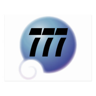 bulle de 777 sur postal