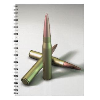 Bullet Ammo Notebook