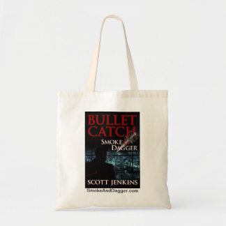 Bullet Catch - Small Tote, white Tote Bag