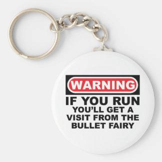 BULLET Fairy Basic Round Button Keychain