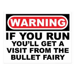 BULLET Fairy Postcard