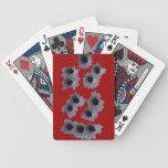 Bullet Hole Gangster Playing Deck of Cards