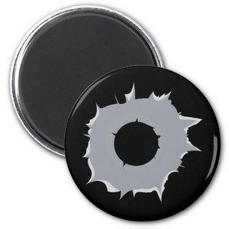 Bullet Hole Magnet