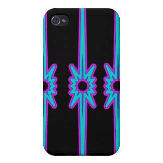 Bullet Hole Purple Blue Purple iPhone 4 Case