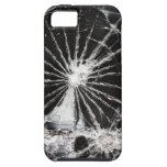 Bullet hole - shattered glass iPhone 5 case