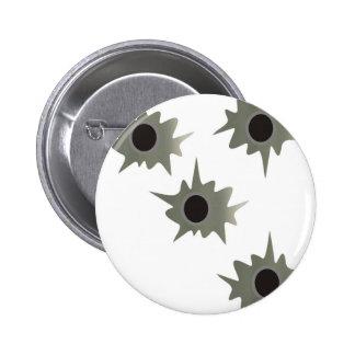 Bullet Holes Buttons