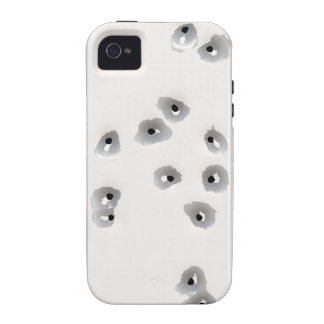 Bullet Holes Vibe iPhone 4 Cover