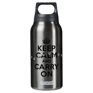 Bullet holes insulated water bottle
