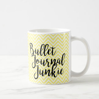 Bullet journal junkie - CUSTOMIZABLE Coffee Mug