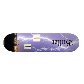 Bullet Lightning Strike Skateboard Deck