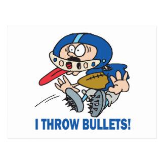 Bullet Pass Postcard