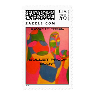 ''BULLET PROOF BODY'' POSTAGE
