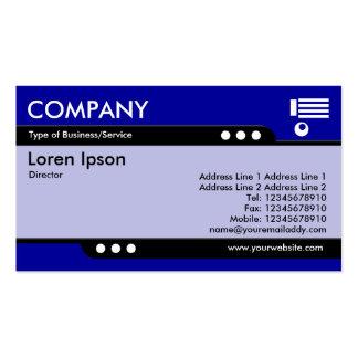 Bullet Train - Blue (000099) Business Card