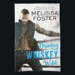 """Bullet Whiskey Kitchen Tea Towel<br><div class=""""desc"""">Bullet Whiskey Kitchen Tea Towel from romance novel DRIVING WHISKEY WILD by New York Times Bestselling Author Melissa Foster</div>"""