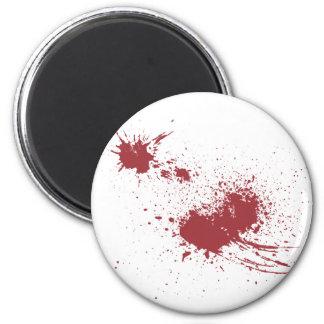 Bullet wound magnet