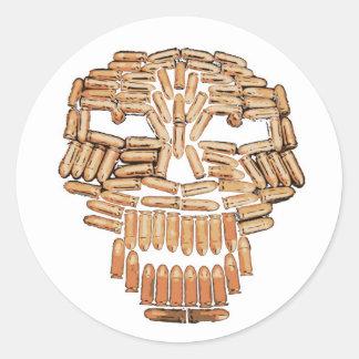 Bullethead Sticker