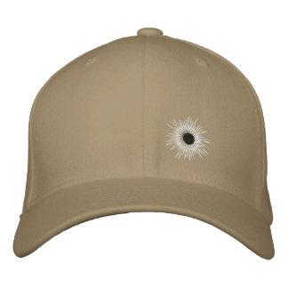 bullethole embroidered baseball hat