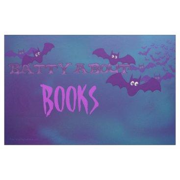 "Halloween Themed Bulletin Board ""Batty About Books"" Halloween Theme Fabric"