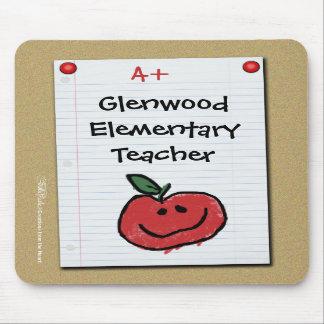 Bulletin Board Note for Elementary Teacher Mousepads