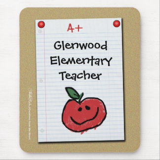 Bulletin Board Note for Elementary Teacher Mouse Pad