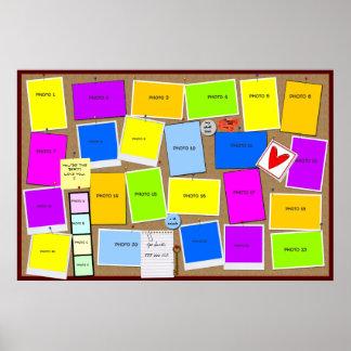 """""""Bulletin Board"""" Poster"""