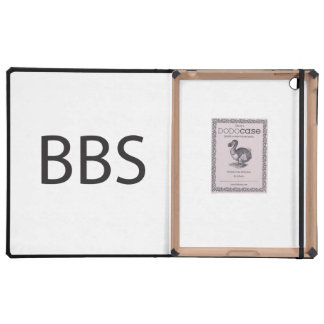 bulletin board service.ai iPad folio case