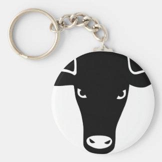 bulletin ox cow cowboy rodeo bull cow keychain