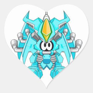 Bulletproof Cavalry Gongram Heart Sticker