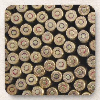 Bullets, ammunition beverage coaster
