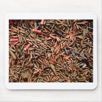 Bullets, ammunition mouse pad