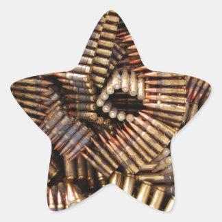 Bullets, ammunition sticker