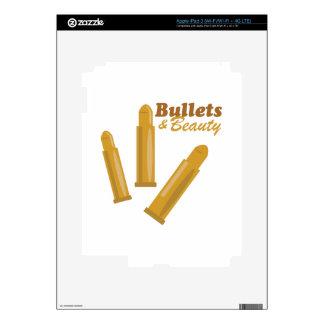 Bullets & Beauty iPad 3 Skins
