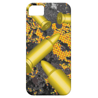 Bullets falling on texture iPhone SE/5/5s case