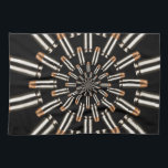 "Bullets Hand Towel<br><div class=""desc"">Symmetry in lead and powder</div>"