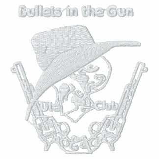 Bullets in the Gun Embroidered Fleecy Jacket