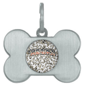 Bullets Over 'Merica Pet ID Tags