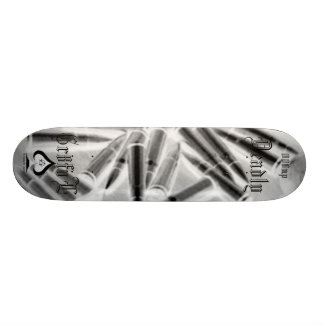 bulletside skateboard deck