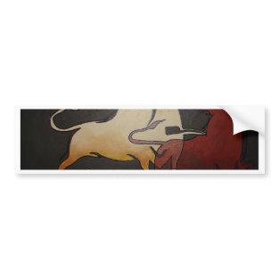 Bullfight 1 bumper stickers