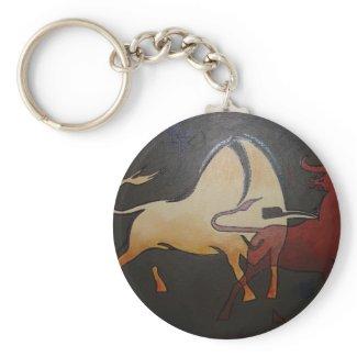 Bullfight 1 keychain