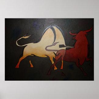 Bullfight 1 print