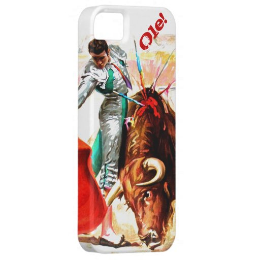 Bullfight Bull Fight Vintage Mexico Poster Art iPhone SE/5/5s Case