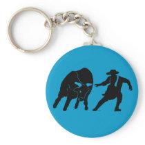 Bullfighter 100 keychain