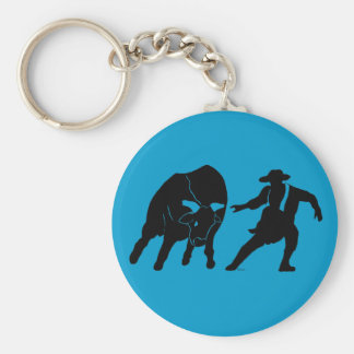 Bullfighter 100 key chain