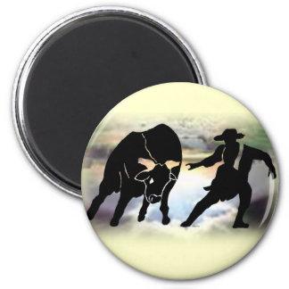 Bullfighter 101 fridge magnet