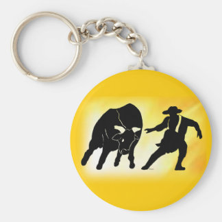 Bullfighter 102 key chain