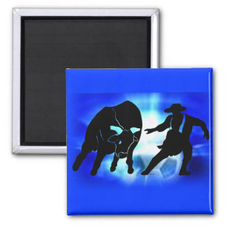 Bullfighter 103 fridge magnet
