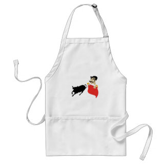 Bullfighter Adult Apron