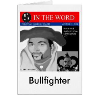 Bullfighter Card